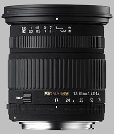 image of Sigma 17-70mm f/2.8-4.5 DC Macro