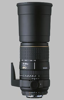 image of the Sigma 170-500mm f/5-6.3 Aspherical RF APO lens