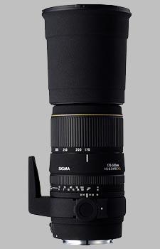 image of the Sigma 170-500mm f/5-6.3 DG APO lens