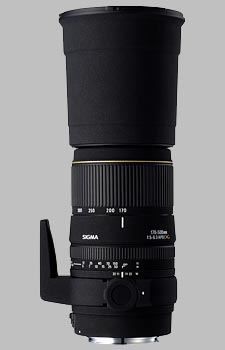 image of the Sigma 170-500mm f/5-6.3 DG APO lens