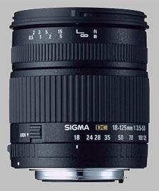 image of Sigma 18-125mm f/3.5-5.6 DC