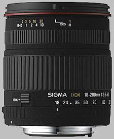 image of Sigma 18-200mm f/3.5-6.3 DC