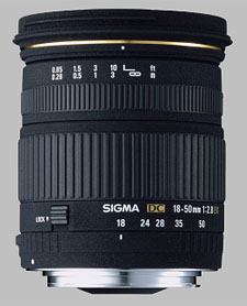 image of the Sigma 18-50mm f/2.8 EX DC lens