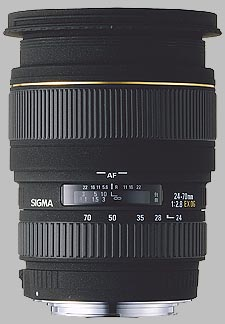 image of the Sigma 24-70mm f/2.8 EX DG Macro lens