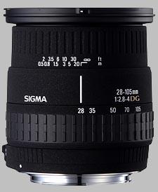 image of Sigma 28-105mm f/2.8-4 DG