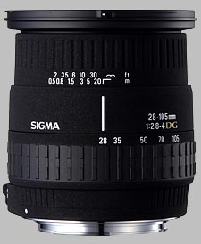 image of the Sigma 28-105mm f/2.8-4 DG lens