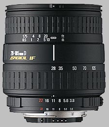 image of the Sigma 28-105mm f/3.8-5.6 UC-III Aspherical IF lens