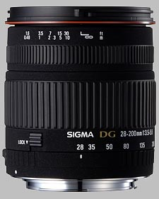 image of the Sigma 28-200mm f/3.5-5.6 DG Macro lens