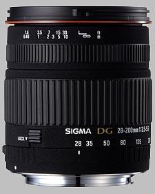 image of the Sigma 28-200mm f/3.5-5.6 DG Macro lens