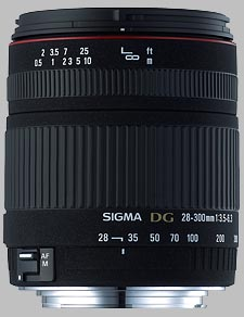 image of the Sigma 28-300mm f/3.5-6.3 DG Macro lens