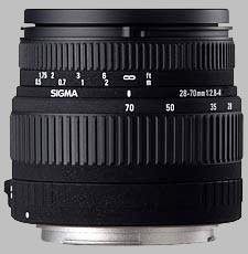 image of the Sigma 28-70mm f/2.8-4 lens