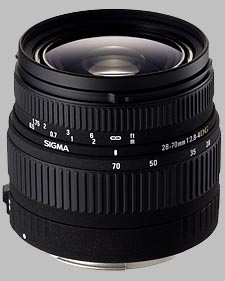 image of the Sigma 28-70mm f/2.8-4 DG lens
