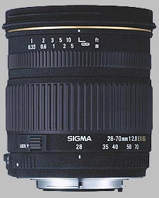 image of the Sigma 28-70mm f/2.8 EX DG lens