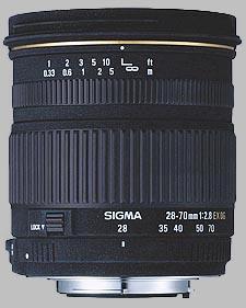 image of the Sigma 28-70mm f/2.8 EX DG lens