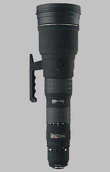 image of the Sigma 300-800mm f/5.6 EX DG HSM lens