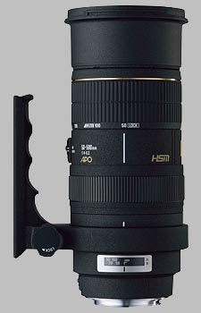 image of the Sigma 50-500mm f/4-6.3 EX DG HSM APO lens