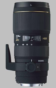 image of the Sigma 70-200mm f/2.8 EX DG HSM APO lens