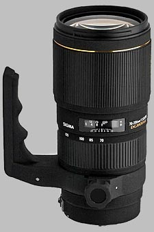 image of the Sigma 70-200mm f/2.8 EX DG Macro HSM APO lens