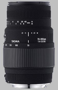 image of Sigma 70-300mm f/4-5.6 DG Macro