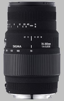 image of the Sigma 70-300mm f/4-5.6 DG Macro lens