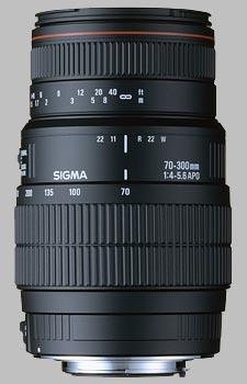 image of the Sigma 70-300mm f/4-5.6 DG Macro APO lens