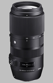 image of the Sigma 100-400mm f/5-6.3 DG OS HSM Contemporary lens