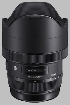 image of the Sigma 12-24mm f/4 DG HSM Art lens