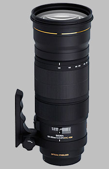image of the Sigma 120-300mm f/2.8 EX DG OS HSM APO lens