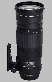 image of the Sigma 120-300mm f/2.8 EX DG OS HSM APO lens