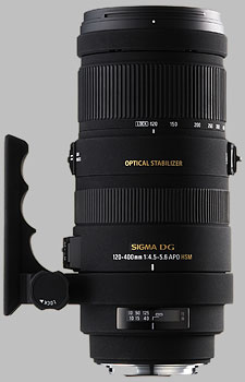 image of the Sigma 120-400mm f/4.5-5.6 DG OS HSM APO lens