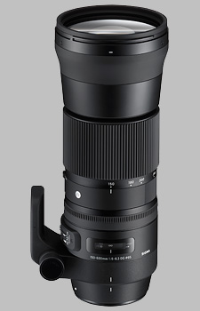 image of the Sigma 150-600mm f/5-6.3 DG OS HSM Contemporary lens