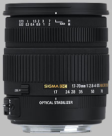 image of the Sigma 17-70mm f/2.8-4 DC Macro OS HSM lens