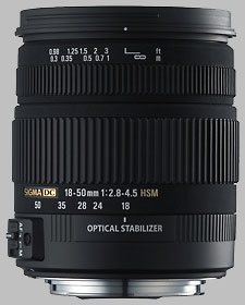 image of the Sigma 18-50mm f/2.8-4.5 DC OS HSM lens