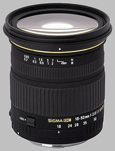 image of the Sigma 18-50mm f/2.8 EX DC Macro lens