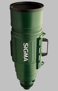 image of the Sigma 200-500mm f/2.8 EX DG APO lens