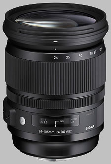 image of the Sigma 24-105mm f/4 DG OS HSM Art lens