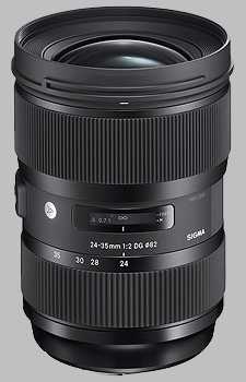 image of the Sigma 24-35mm f/2 DG HSM Art lens