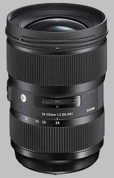 image of Sigma 24-35mm f/2 DG HSM Art