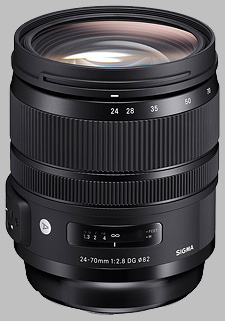 image of Sigma 24-70mm f/2.8 DG OS HSM Art