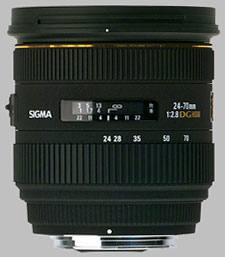 image of the Sigma 24-70mm f/2.8 EX DG HSM lens