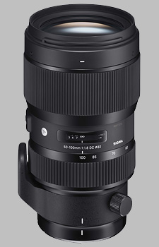 image of the Sigma 50-100mm f/1.8 DC HSM Art lens