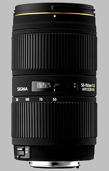 image of the Sigma 50-150mm f/2.8 EX DC HSM APO lens