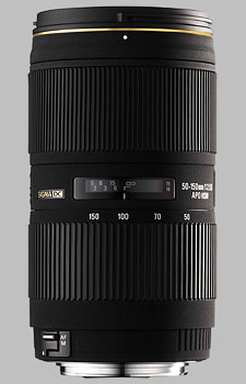 image of the Sigma 50-150mm f/2.8 II EX DC HSM APO lens