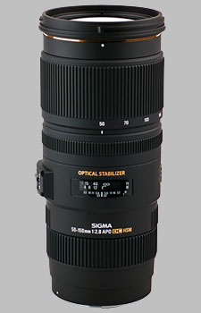 image of the Sigma 50-150mm f/2.8 EX DC OS HSM APO lens