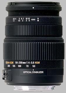 image of Sigma 50-200mm f/4-5.6 DC OS HSM