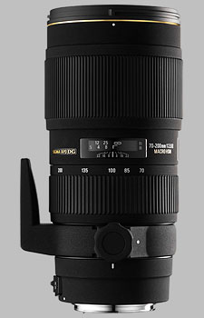 image of the Sigma 70-200mm f/2.8 II EX DG Macro HSM APO lens