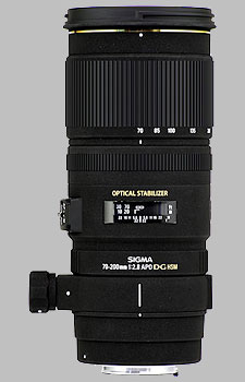 image of the Sigma 70-200mm f/2.8 EX DG OS HSM APO lens