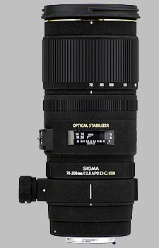 image of the Sigma 70-200mm f/2.8 EX DG OS HSM APO lens