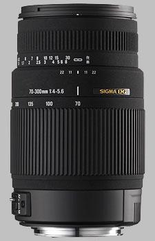 image of Sigma 70-300mm f/4-5.6 DG OS