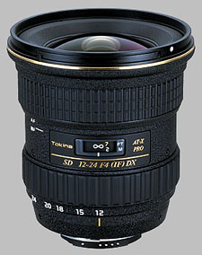 image of the Tokina 12-24mm f/4 AT-X 124 AF PRO DX SD lens